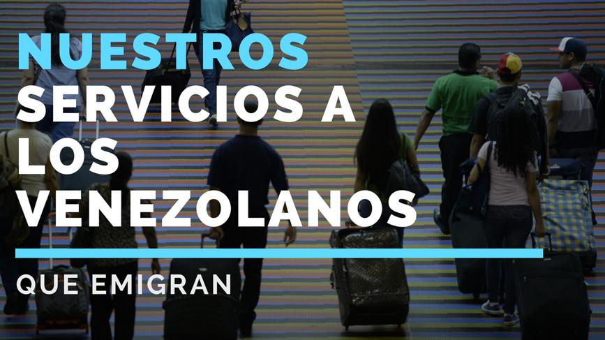 emigrante venezolano
